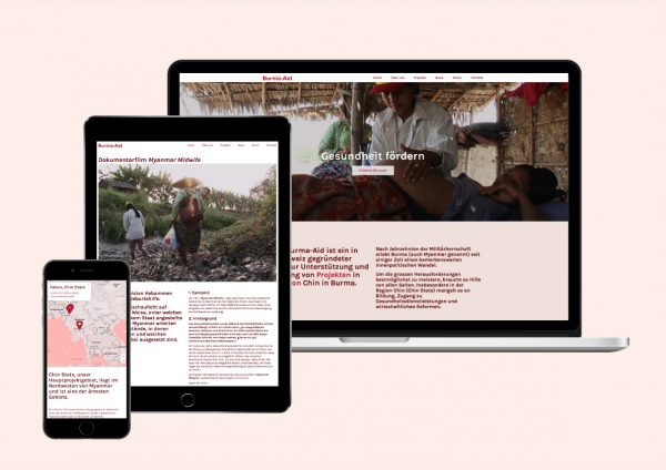 Website Swiss Burma-Aid